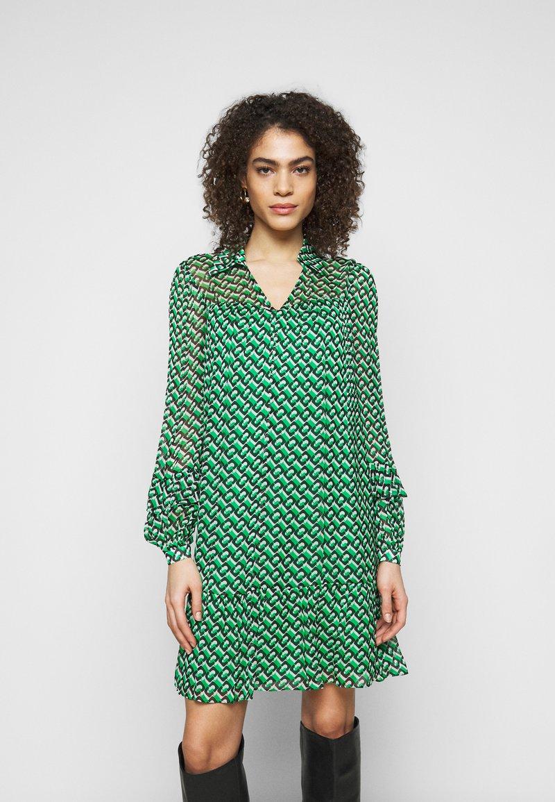 Diane von Furstenberg - HEIDI DRESS - Vapaa-ajan mekko - medium green