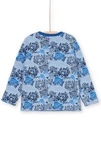 Du Pareil au Même - Print T-shirt - blue - 1