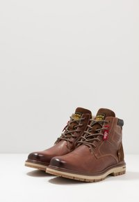 s.Oliver - Lace-up ankle boots - brown - 2