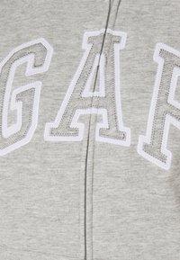 GAP - Zip-up hoodie - light heather grey - 2