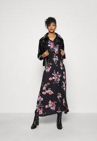 Vero Moda - VMLOVELY ANCLE DRESS - Maxiklänning - black - 1