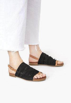 T-bar sandals - nb black ubl
