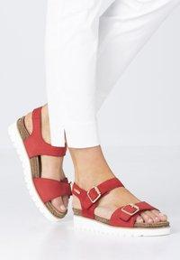 Mobils Ergonomic - Walking sandals - scarlet - 0
