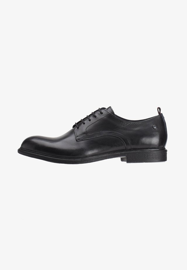 MARL WASHED - Derbies & Richelieus - black