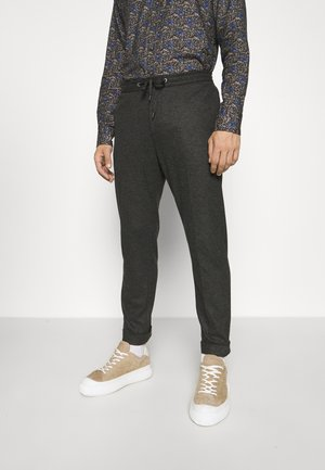 TRAVIN - Trousers - dark grey melange