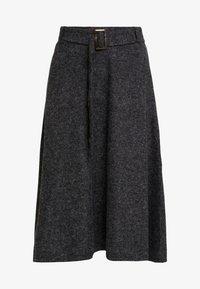 Esprit Collection - SKIRT - A-snit nederdel/ A-formede nederdele - gunmetal - 4