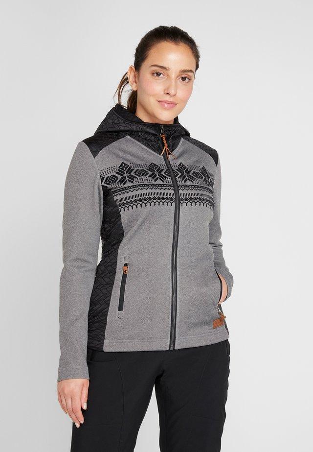 SOLNA - Zip-up hoodie - gray