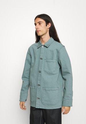 FEDERAL JACKET UNISEX - Spijkerjas - turquoise