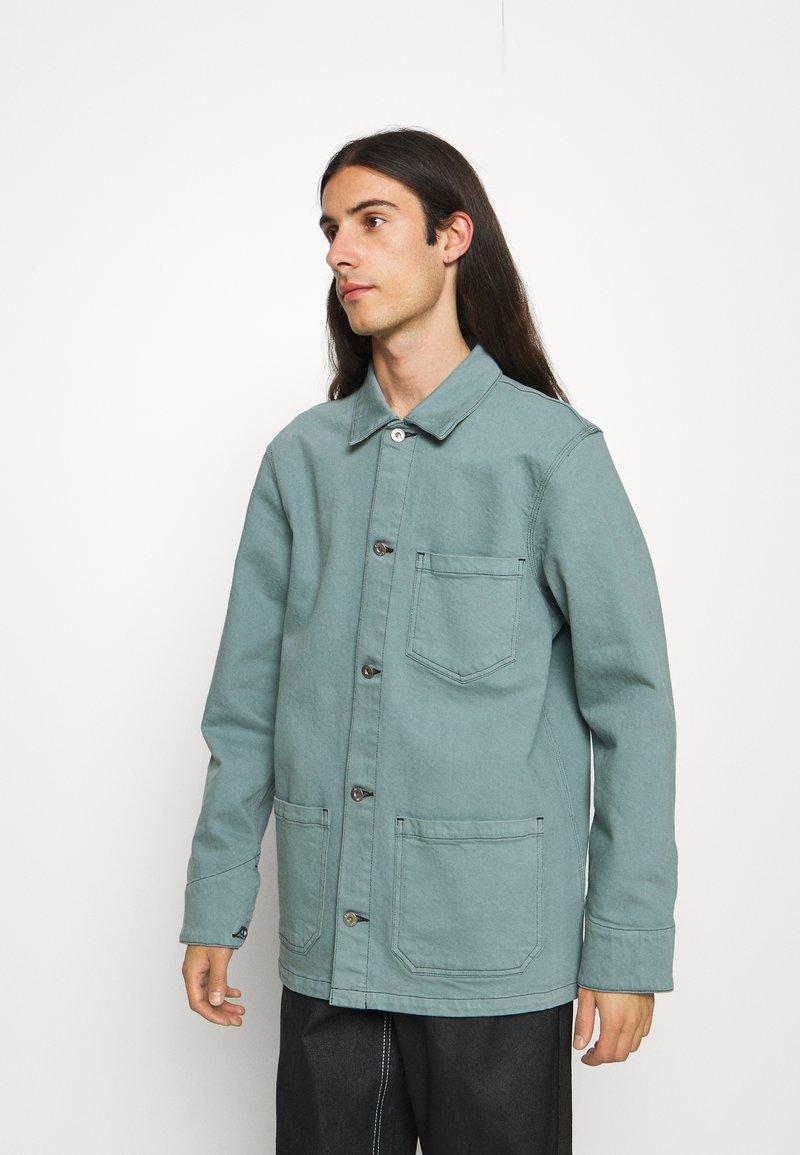 Edwin - FEDERAL JACKET UNISEX - Jakna iz džinsa - turquoise