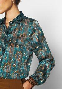 Esqualo - BLOUSE PAISLEY LEAVE PRINT - Bluser - multi-coloured - 5