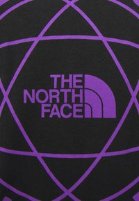 The North Face - DOUBLE SLEEVE GRAPHIC TEE - Long sleeved top - black - 2