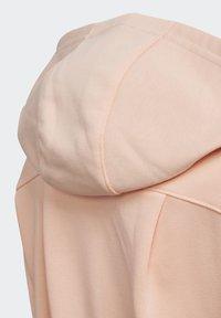 adidas Performance - FRENCH TERRY KNIT HOODIE - veste en sweat zippée - pink - 3