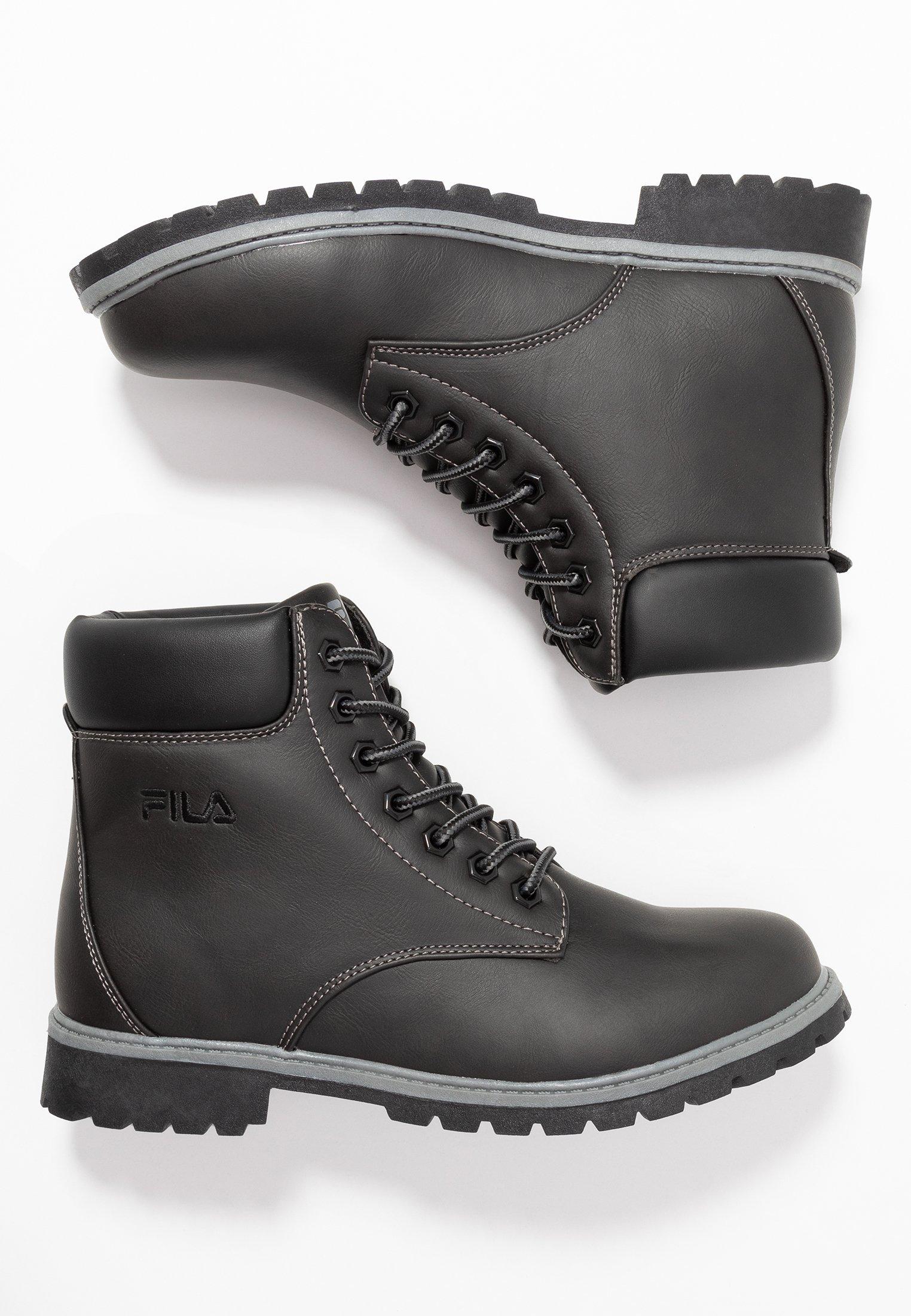 Fila Maverick - Snørestøvletter Black/svart