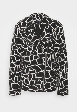 ANIMAL MOTO - Summer jacket - black/french vanilla