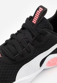 Puma - CELL MAGMA CLEAN - Neutral running shoes - black/ignite pink - 5