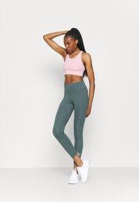 Nike Performance - NIKE ONE 7/8 - Leggings - hasta/white - 1