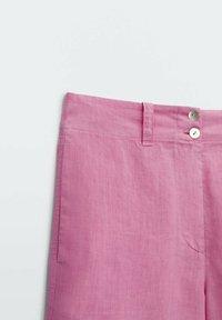 Massimo Dutti - MIT  - Shorts - neon pink - 4
