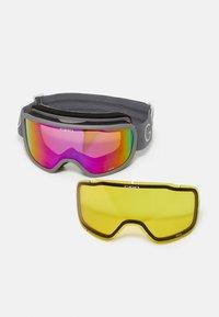 Giro - MOXIE - Gogle narciarskie - tit core lght amber pink/yell - 3