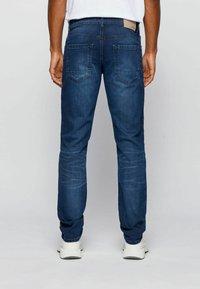 BOSS - CHARLESTON - Slim fit jeans - dark blue - 1