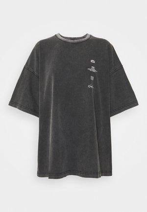 GOLDEN CUT VINTAGE WOMEN - T-shirt med print - vintage black
