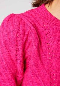 Morgan - Pullover - neon pink - 3