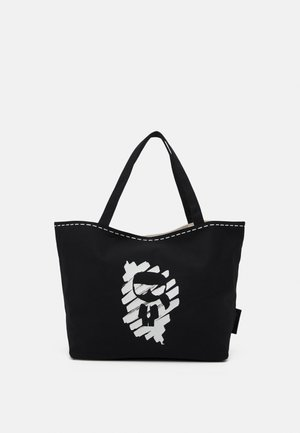 IKONIK GRAFFITI REV TOTE - Shopping Bag - black