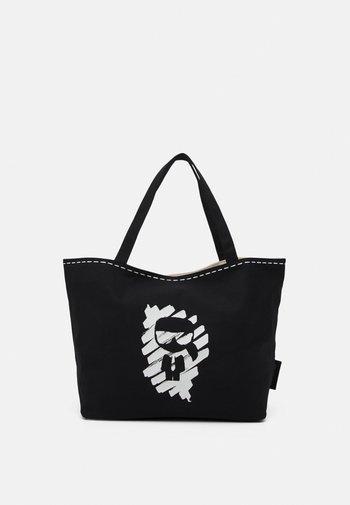 IKONIK GRAFFITI REV TOTE - Tote bag - black