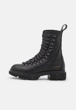 CPH559  - Platform ankle boots - black