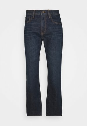 V-STRAIGHT OPP SUN CITY - Straight leg jeans - dark wash