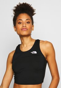 The North Face - WOMENS ACTIVE TRAIL TANKLETTE - Treningsskjorter - black - 3