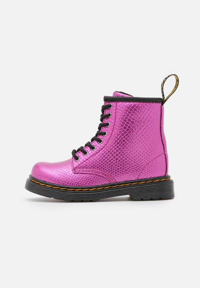 1460  - Lace-up ankle boots - pink