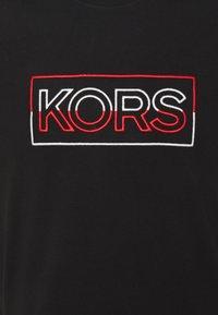 Michael Kors - BOX TEE - T-shirt con stampa - black - 2