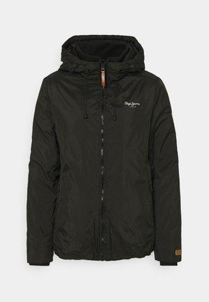 ALISON - Lehká bunda - black