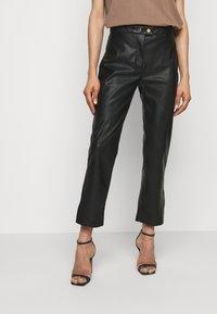 Pinko - TORRONE PANTALONE  - Trousers - black - 0
