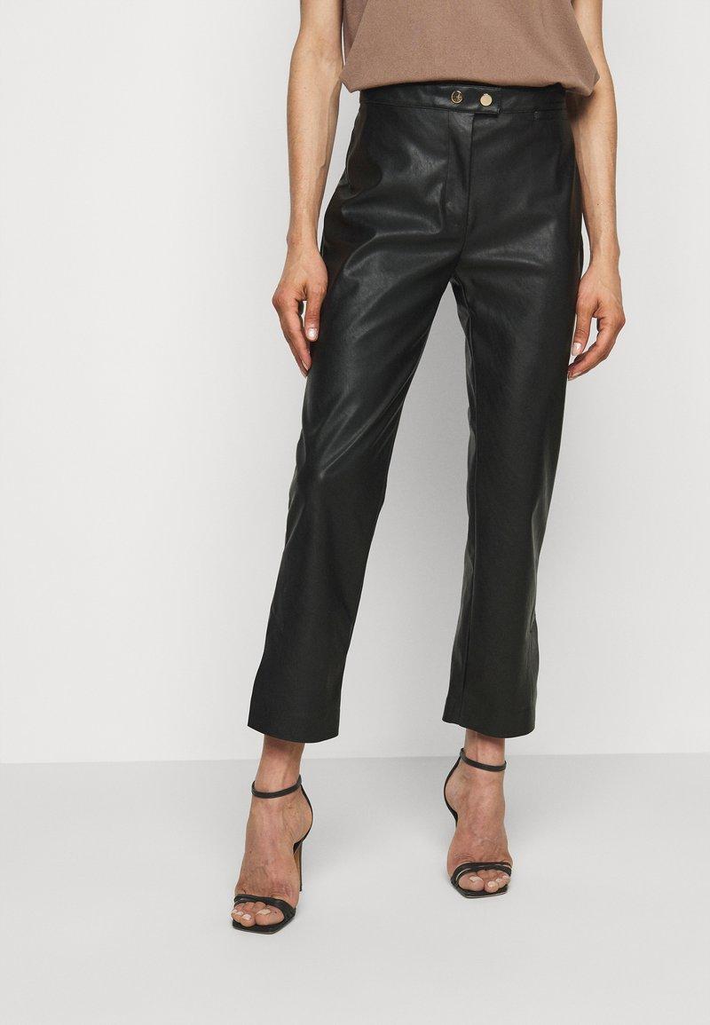 Pinko - TORRONE PANTALONE  - Trousers - black