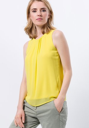 Blouse - yellow lime