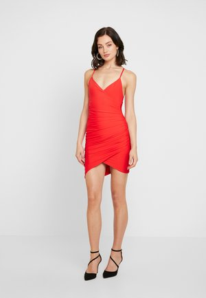 CHIARA DRESS - Shift dress - red