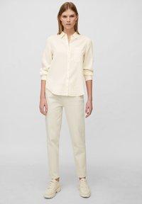 Marc O'Polo - Button-down blouse - raw cream - 1