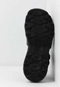 Skechers Sport - CALI - Platform sandals - black - 6