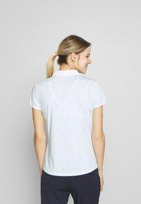 Calvin Klein Golf - SUNRAY  - Polo shirt - aqua/white - 2