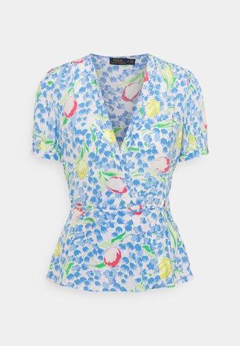 VINTAGE - T-shirts med print - blue