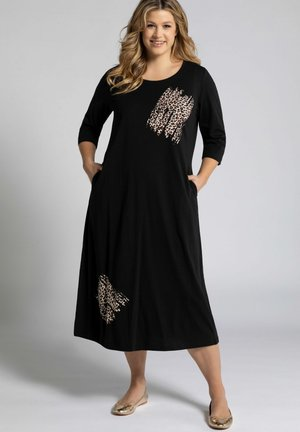 3/4-ÄRMEL - Maxi dress - multicolor schwarz