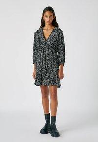 PULL&BEAR - Day dress - black - 1