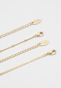 Orelia - SATELLITE AND FLAT CURB CHAIN SET - Necklace - gold-coloured - 2