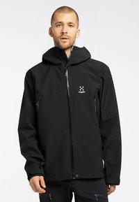 Haglöfs - ROC GTX JACKET - Hardshell jacket - true black - 0