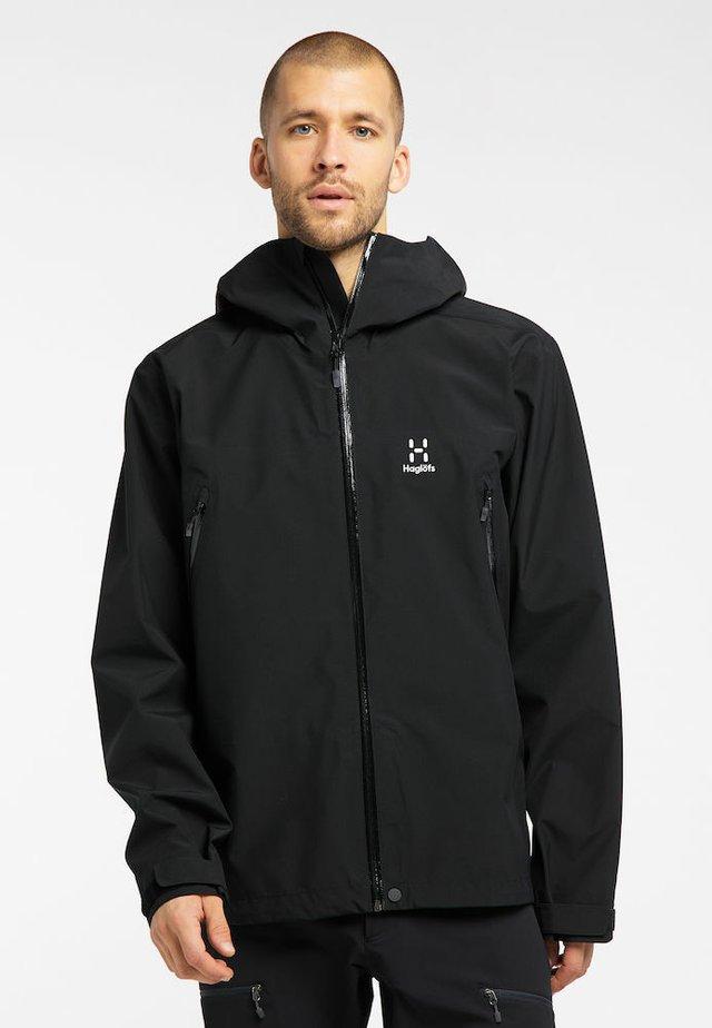ROC GTX JACKET - Hardshell jacket - true black