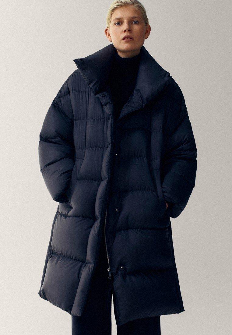 Massimo Dutti - Winter coat - black