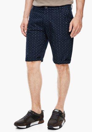 MIT PRINT - Shorts - marine