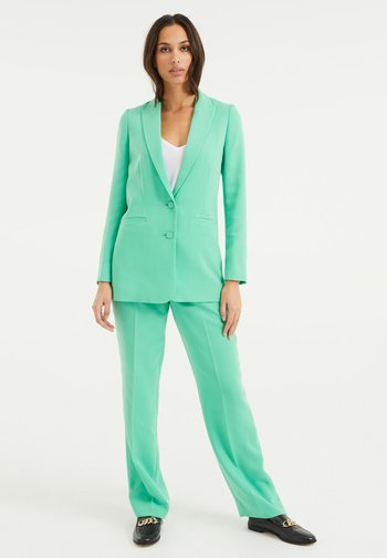 Trousers - bright green