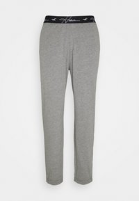 Hollister Co. - LOUNGE BOTTOM JOGGERS - Bas de pyjama - grey - 0